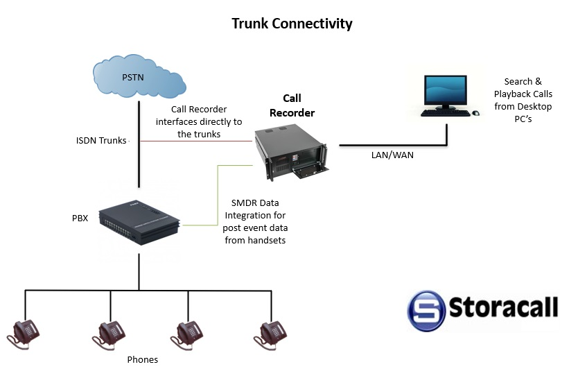 Trunk Connectivity